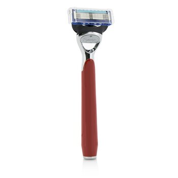 The Art Of Shaving Morris Park Collection Cuchilla de Afeitar - Signal Red  1pc