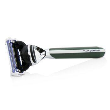 The Art Of Shaving Morris Park Collection Cuchilla de Afeitar - British Racing Green  1pc
