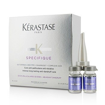 Kerastase Specifique Intense Long-Lasting Anti-Dandruff Care  12x6ml/0.2oz