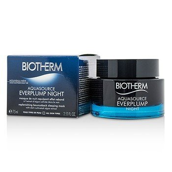 Biotherm Maseczka do twarzy Aquasource Everplump Night Replenishing Bounceback Sleeping Mask  75ml/2.53oz