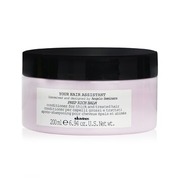 ダヴィネス Your Hair Assistant Prep Rich Balm Conditioner (For Thick and Treated Hair)  200ml/6.94oz