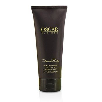 Oscar De La Renta Oscar Hair & Body Wash Gel (Unboxed)  200ml/6.7oz