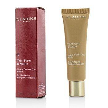 Clarins Base Matificante Perfeccionante de Poros - # 02 Nude Beige  30ml/1oz