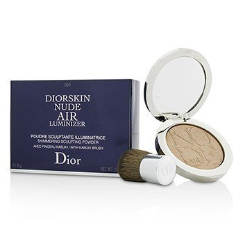 Christian Dior Diorskin Nude Air Luminizer Shimmering Sculpting Powder (With Kabuki Brush) - #004  6g/0.21oz