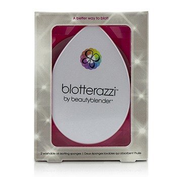 BeautyBlender Blotterazzi (2x Washable Oil Blotting Sponges) - Original (Pink)  2pcs