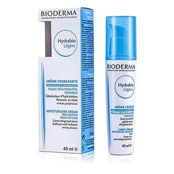 Bioderma Hydrabio Moisturising Light Cream - For Dehydrated Sensitive Skin (Exp. Date 07/2017)  40ml/1.35oz
