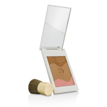 Sisley Phyto Touche Sun Glow Powder With Brush - # Trio Miel Cannelle  11g/0.38oz