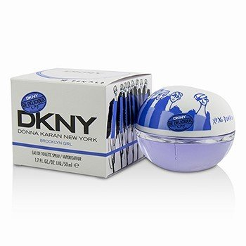 DKNY Be Delicious City Brooklyn Girl Eau De Toilette Spray  50ml/1.7oz