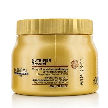 ロレアル Professionnel Expert Serie - Nutrifier Glycerol  Silicone-Free Melting Masque - Rinse Out (For Dry,  500ml/16.9oz