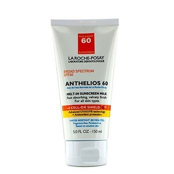 La Roche Posay Anthelios 60 Melt-In Sunscreen Milk - For Face & Body (Exp. 11/2017)  150ml/5oz