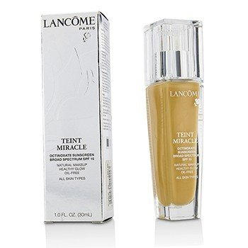 Lancome Teint Miracle Maquillaje Brillo Natural Saludable SPF 15 - # 320 Bisque 4W (Versión US)  30ml/1oz