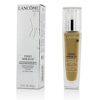 Lancome Teint Miracle Natural Healthy Glow Makeup SPF 15 - # 340 Bisque N (US Version)  30ml/1oz
