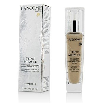 Lancome Teint Miracle Natural Skin Perfection SPF 15 - # 110 Ivoire 2C (US Version)  30ml/1oz