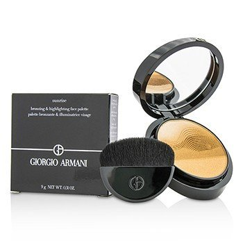 Giorgio Armani Sunrise Bronzing & Highlighting Face Palette  9g/0.31oz