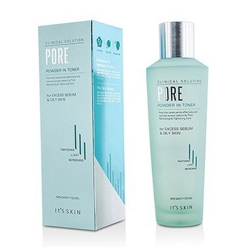 It's Skin Clinical Solution Pore Powder In Toner (Manufacture Date: 08/2014)  150ml/5oz