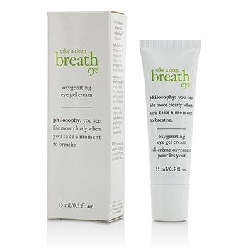 פילוסופי Take A Deep Breath Eye Oxygenating Eye Gel Cream קרם-ג'ל עיניים  15ml/0.5oz