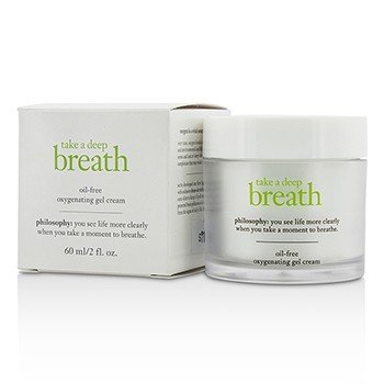 פילוסופי Take A Deep Breath Oil-Free Oxygenating Gel Cream  60ml/2oz
