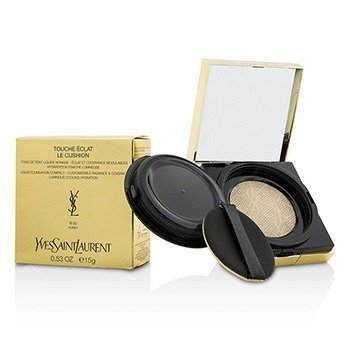 Yves Saint Laurent Touche Eclat Le Cushion Liquid Foundation Compact - #B50 Honey  15g/0.53oz