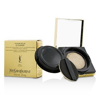 Yves Saint Laurent Touche Eclat Le Cushion Base Compacta Líquida - #BR40 Cool Sand  15g/0.53oz
