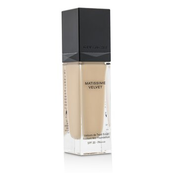 Givenchy Matissime Velvet Radiant Base Fluida Mate SPF 20 - #02 Mat Shell  30ml/1oz