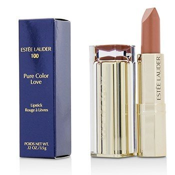 Estee Lauder Pure Color Love Pintalabios - #100 Blasé Buff  3.5g/0.12oz