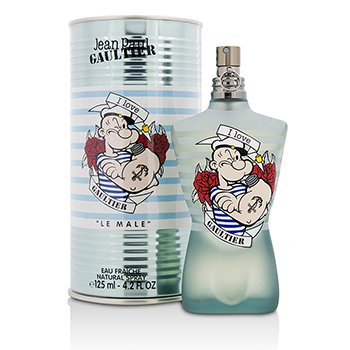 Jean Paul Gaultier Le Male (Popeye) Eau Fraiche Eau De Toilette Spray  125ml/4.2oz