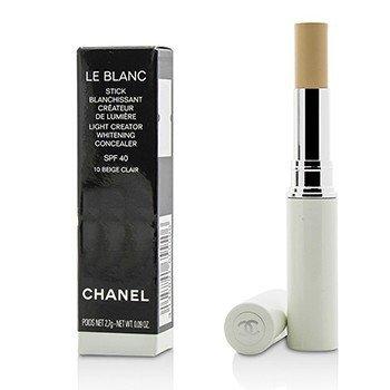 ชาแนล Le Blanc Light Creator Whitening Concealer SPF 40 - #10 Beige Clair  2.7g/0.09oz