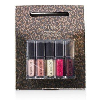 Laura Mercier Kiss of Shine Lip Glace Collection (5x Mini Brillo de Labios)  5pcs
