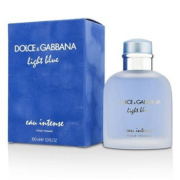 ドルチェ&ガッバーナ  Light Blue Eau Intense Pour Homme Eau De Parfum Spray  100ml/3.3oz