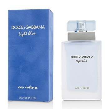 Dolce & Gabbana Light Blue Eau Intense Eau De Parfum Spray  50ml/1.6oz