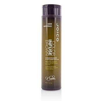 Joico Color Infuse Brown Conditioner (To Revive Golden-Brown Hair)  300ml/10.1oz