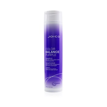 Joico Color Balance Purple Shampoo (Eliminates Brassy/Yellow Tones on Blonde/Gray Hair)  300ml/10.1oz
