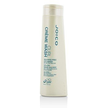 Joico Curl Creme Wash Sulfate-Free Co+Wash (For Soft, Frizz-Free Curls)  300ml/10.1oz