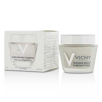 Vichy Pore Purifying Clay Mask w/ Two Mineral Clays מסכת חימר   75ml/2.54oz