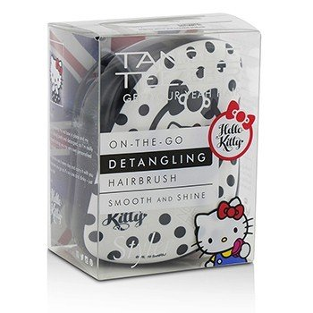 Tangle Teezer Compact Styler On-The-Go Detangling Hair Brush - # Hello Kitty Black  1pc