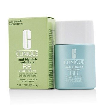 Clinique Anti-Blemish Solutions BB Cream SPF 40 - Light (Combination Oily to Oily)  30ml/1oz