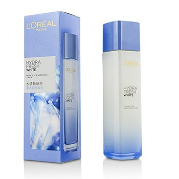 L'Oreal تونر Hydra Fresh White Sea Narcissus  130ml/4.3oz