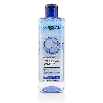 歐萊雅 三效卸妝水(深層清潔)——敏感肌適用  400ml/13.3oz