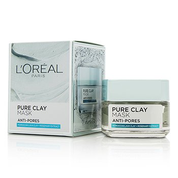 L'Oreal Pure Clay Mascarilla Anti-Poros  50g/1.7oz