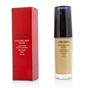 Shiseido Płynny podkład do twarzy Synchro Skin Glow Luminizing Fluid Foundation SPF 20 - # Golden 2  30ml/1oz