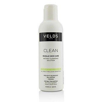 Veld's Clean Micelle Skin Care Solución Limpiadora Instantánea - Para Todo Tipo de Piel (Incluso Sensible)  200ml/6.8oz