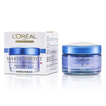 L'Oreal Dermo-Expertise White Perfect Soothing Cream Night (Exp. Date: 01/2018)  50ml/1.7oz