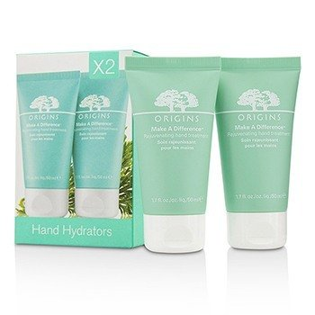 Origins Make A Difference Rejuvenating Hand Treatment Duo  2x50ml/1.7oz