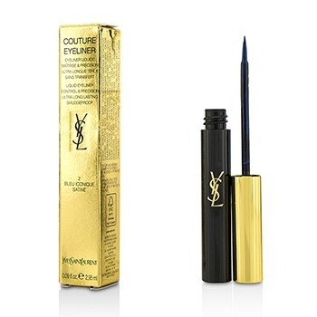 Yves Saint Laurent Couture Liquid Eyeliner - # 2 Bleu Iconique Satine  2.95ml/0.09oz