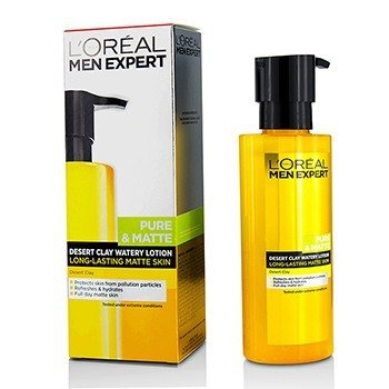 ロレアル Men Expert Pure & Matte Desert Clay Watery Lotion  120ml/4.06oz