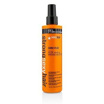 Sexy Hair Concepts Strong Sexy Hair Core Flex Reconstructor Sin Enjuague Anti-Rotura  250ml/8.5oz