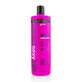 Sexy Hair Concepts Vibrant Sexy Hair Color Acondicionador Conservador de Color de Mechones  1000ml/33.8oz