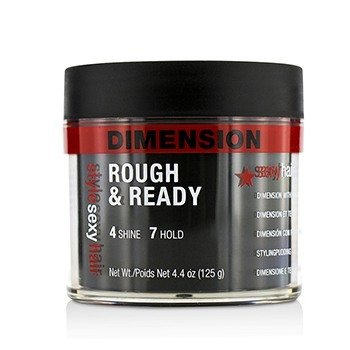 Sexy Hair Concepts Style Sexy Hair Rough & Ready Dimension with Hold  125g/4.4oz
