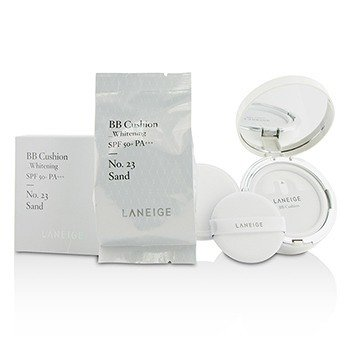 Laneige BB Cushion Foundation (Whitening) SPF 50 With Extra Refill - # No. 23 Sand  2x15g/0.5oz