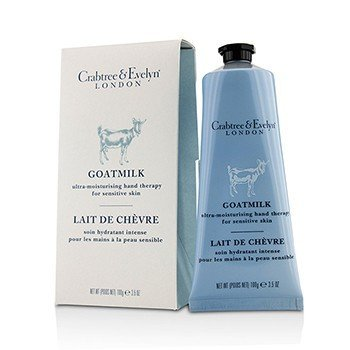 Crabtree & Evelyn Goatmilk Ultra-Moisturising Hand Therapy -For Sensitive Skin  100g